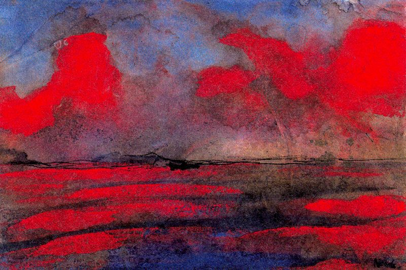 emil-nolde-landscape-in-red-light