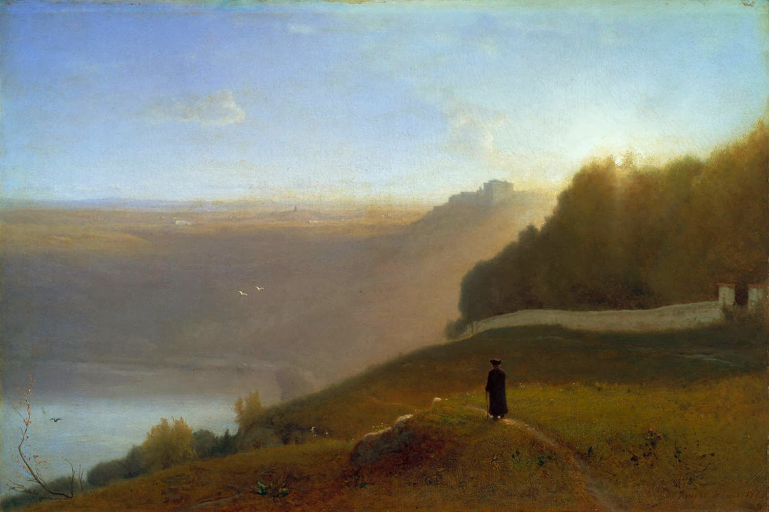 Inness George - Lake Nemi - 1872